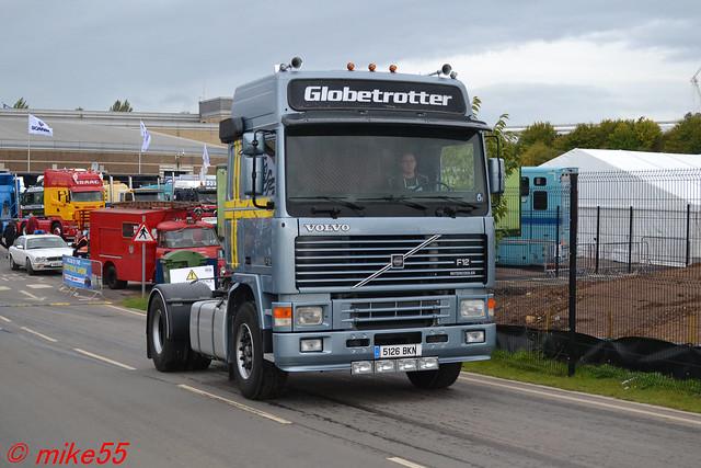 Volvo F12 Globetrotter reg 5126 BKN (E)