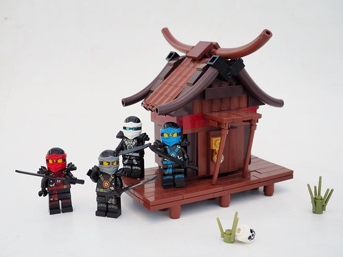 Ninjago Train Station