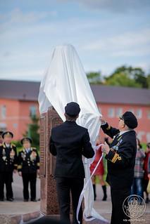Освящение памятника 180