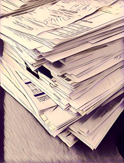 Paperwork | by Damian Gadal