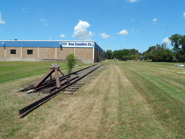 They took the tracks but not the siding at Griffith Indiana