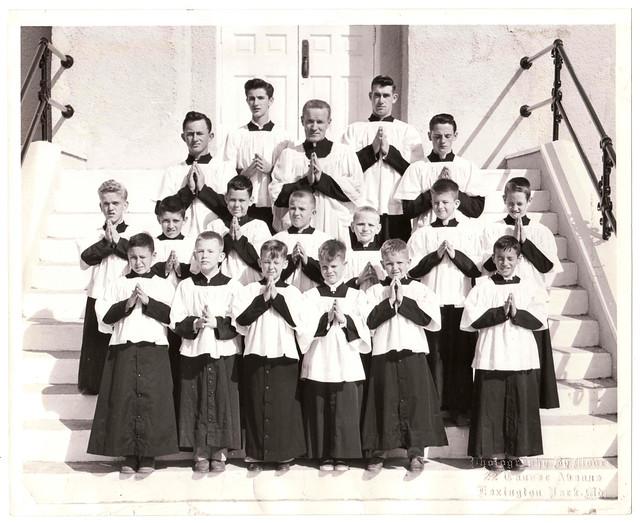 Vintage Photo : Choir Boys : Lexington Park, Maryland