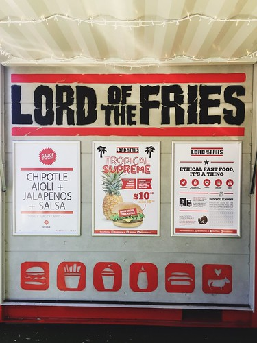 Lunch at Lord of the Fries in Auckland | by lady3jenn