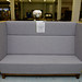 Office large high back 3 seater sofa