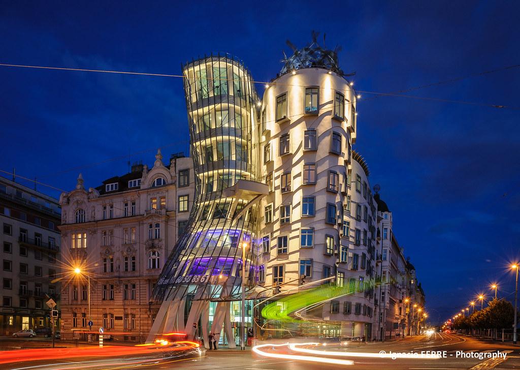 Dans Eden Ev (Dancing House) Prag