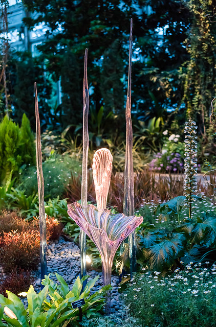 Chihuly's Plants and Glass