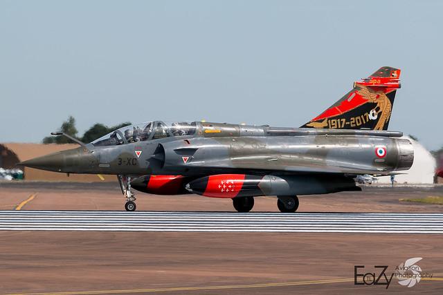 618 / 3-XC French Air Force (Armée de l'air) Dassault Mirage 2000D