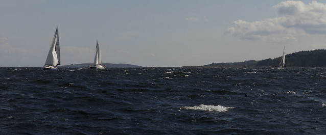 Great sailing day off Kames
