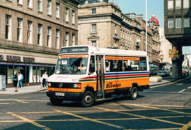 E423 AFT on Pilgrim Street, Newcastle Upon Tyne