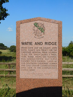 Stand and Ridge Historic Marker