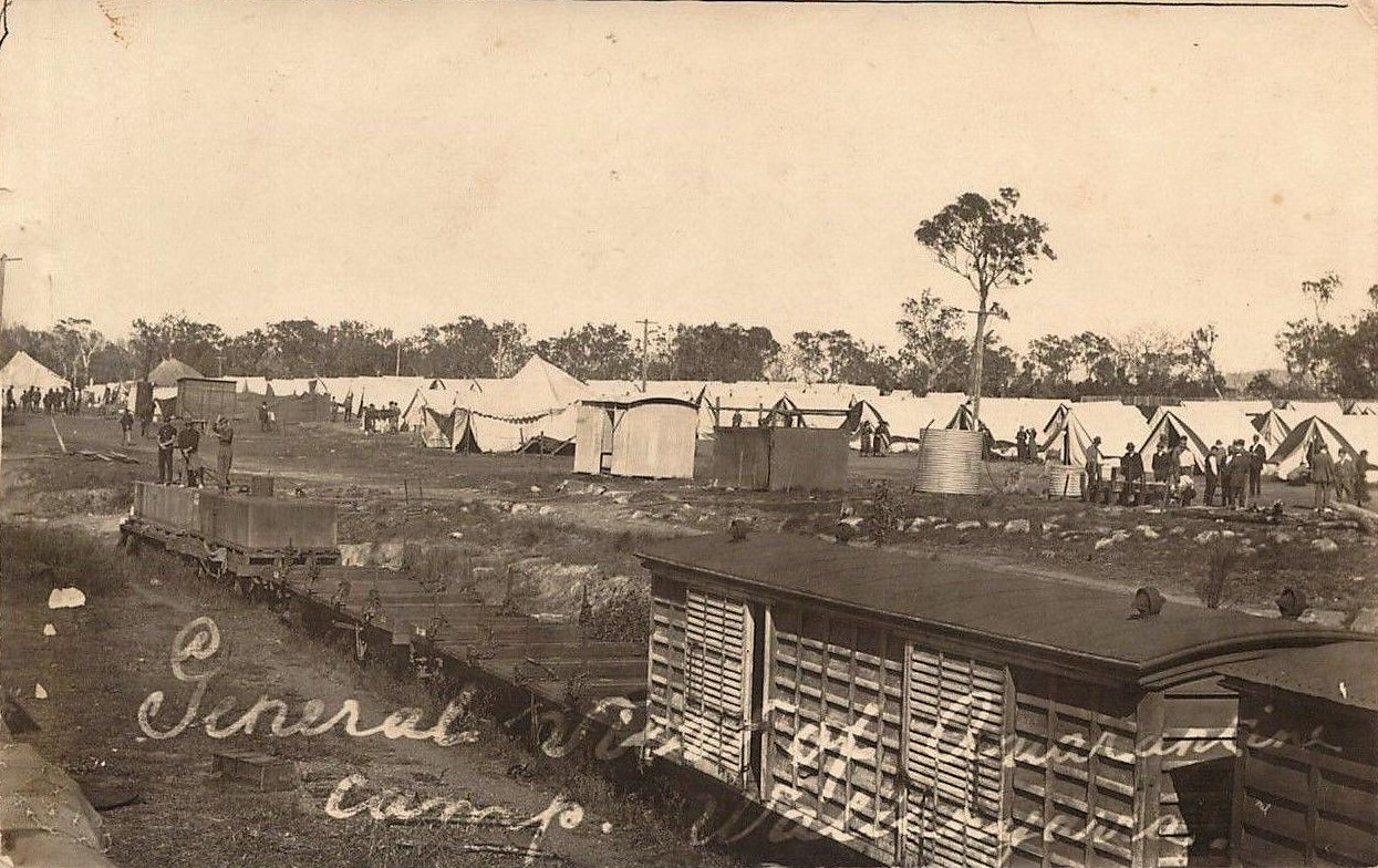 Wallangarra Quarantine Camp, Qld - 1919