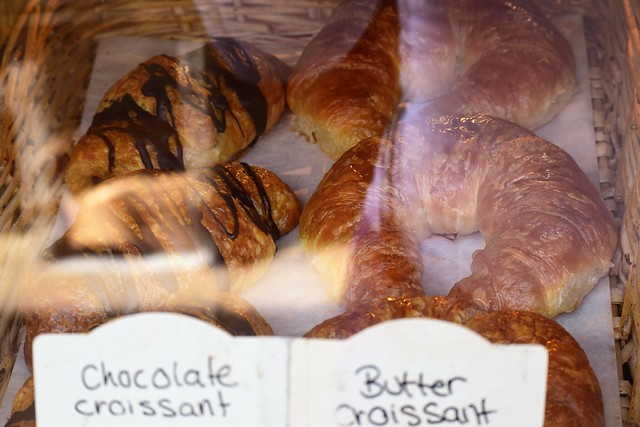 Croissants Under Glass