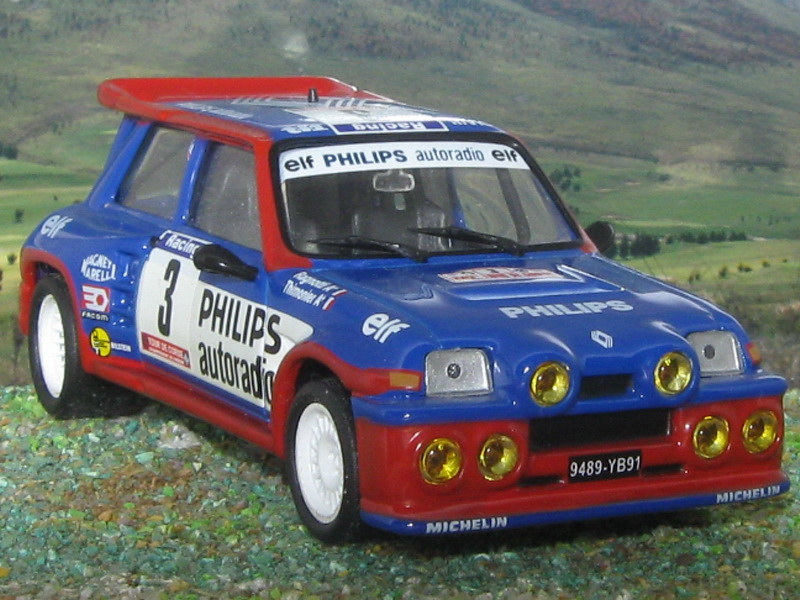 Renault 5 Maxi Turbo – Córcega 1985