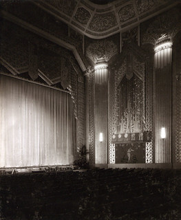 Inside the auditorium at the Paramount Theatre, Newcastle