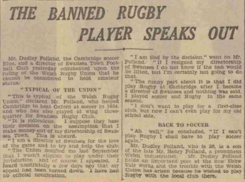 Leeds Mercury 18 Jan 1939
