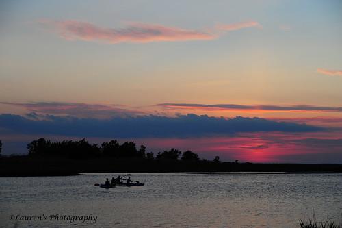 sunset summer sky clouds landscape md nikon dusk paddle maryland easternshore tilghman chesapeakebay waterscape tilghmanisland knappsnarrows laurensphotography lauren3838photography d700 tamron2875 tourism color colorful talbotcounty kayak 250v10f