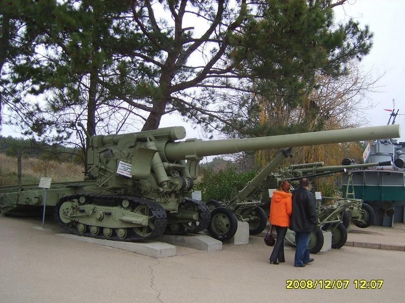 152mm BR-2 Gun Mod.1935 1