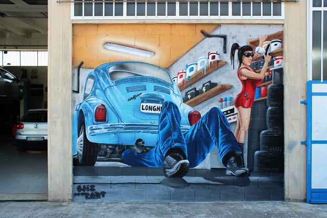 - Garage - by WIZ ART