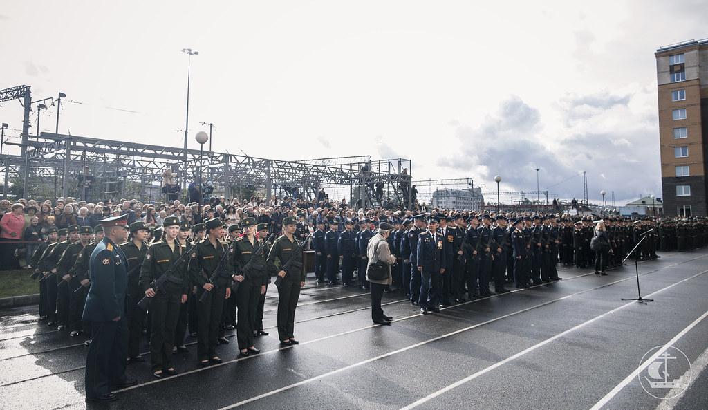 26 августа 2017, Присяга в Военно-Медицинской Академии / 26 August 2017, Military oath in the S.M. Kirov Military Medical Academy