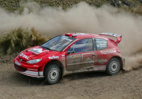 Peugeot 206 WRC – Argentina 2003