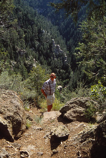 Arizona   -   Oak Creek Canyon   -   John   -   September 1992