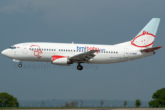 G-OBMP BMI Baby B737-300 East Midlands Airport