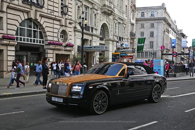 Rolls Royce, Phantom Drophead, London, United Kingdom