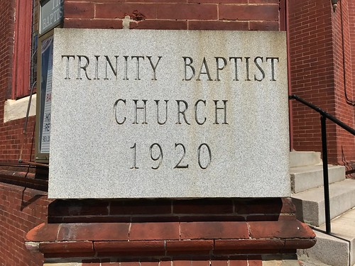 Trinity Baptist Church/Former Old St. Paul's Lutheran Church (1872), 1601 Druid Hill Avenue, Baltimore, MD 21217 | by Baltimore Heritage