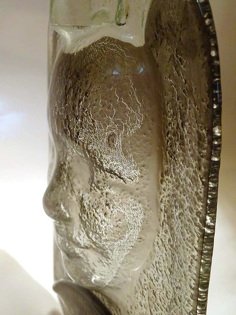 Glass sculpture, Sculptura sticla, ReGlass Collection by Pro Ideas Trade - upcycled glass