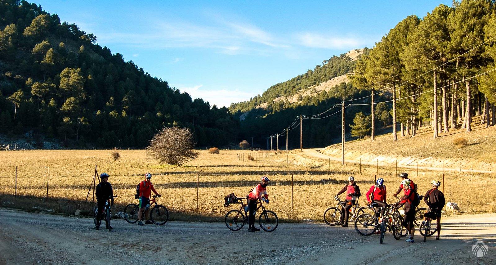 Nos reagrupamos en el poljé de Cañada de la Cruz