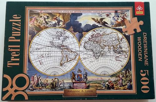 Orbis terrarum nova et accuratissima tabula   by lpk84