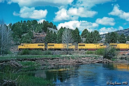 oregoncaliforniaeastern ocerailway oce spragueriver morrisonknudsen te5314e trains railroads oregon klamathbasin shastacascadewonderland klamathcounty