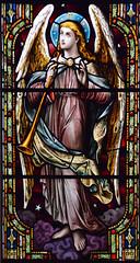angel sounding the last trump (AL Moore, 1909)
