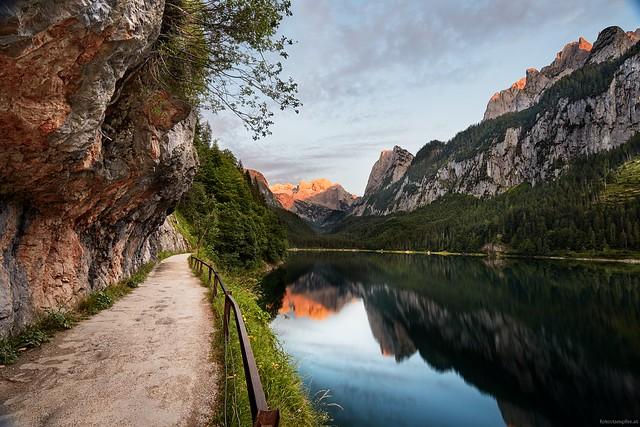 sunset Gosausee / Dachstein
