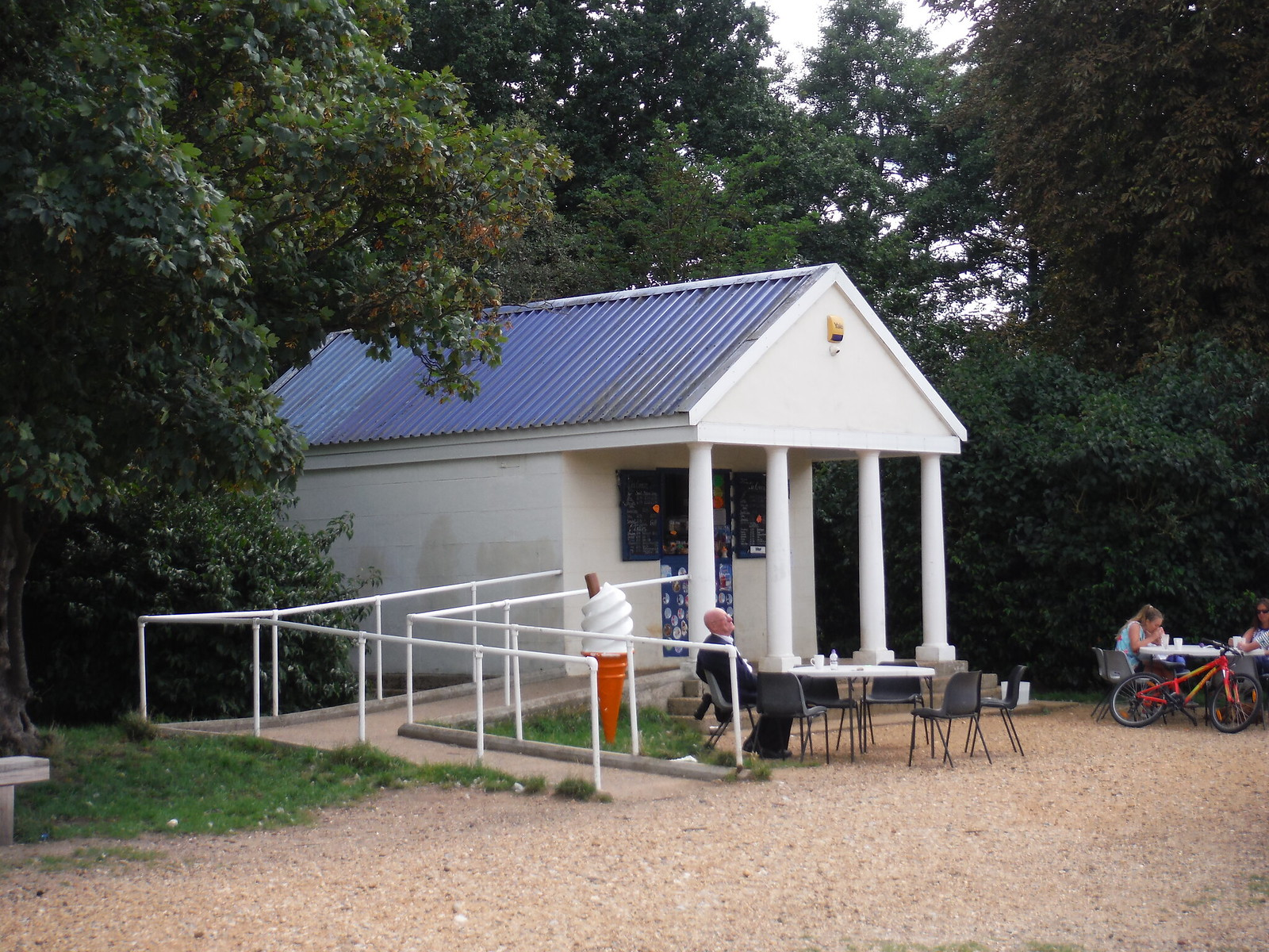 The Kiosk at Wanstead Park SWC Walk Short 11 - Wanstead Park