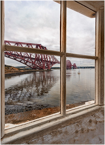forthrailbridge forth bridge lighttower smallest northqueensferry robertstevenson maritime pier fife scotland firthofforth landmark