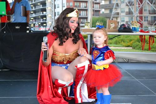 CW Austin Supergirl: Supergirl Izzy, Isabella Garner | by CASA of Travis County