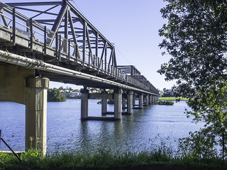 Martin Bridge over Manning River