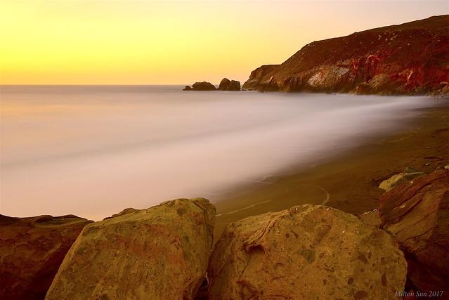 Minimal Seascape|Rockaway Beach, California