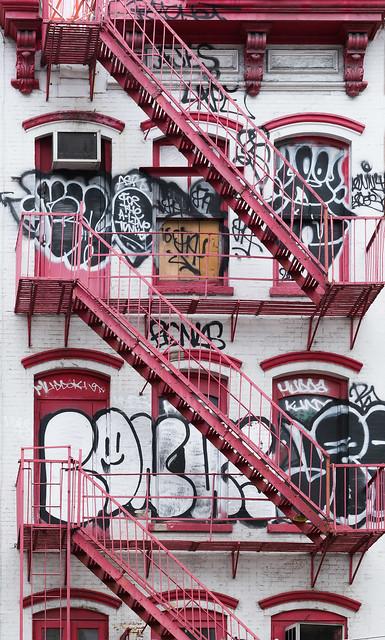 Graffiti and Fire escapes