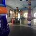 Inside the Hundertwasser-Market Hall,  Staad-Altenrhein, Switzerland