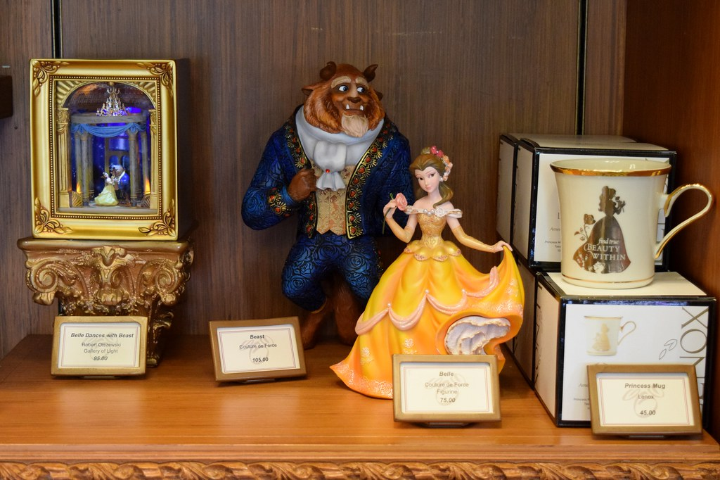 Beauty And The Beast Collectibles >> Disneyland Visit On August 6 2017 Main Street Disneya Flickr