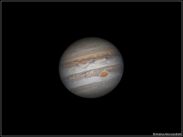Jupiter the Opposition night - 08 April 2017