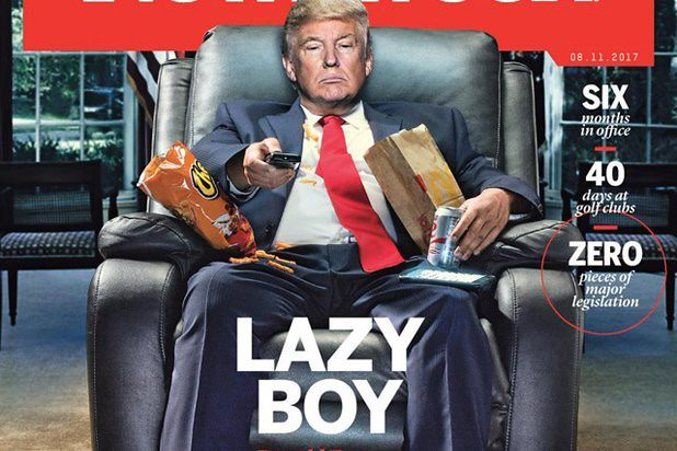 Image result for trump lazy
