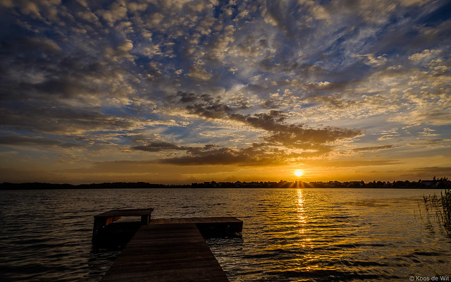 Sunset at Borgmeren
