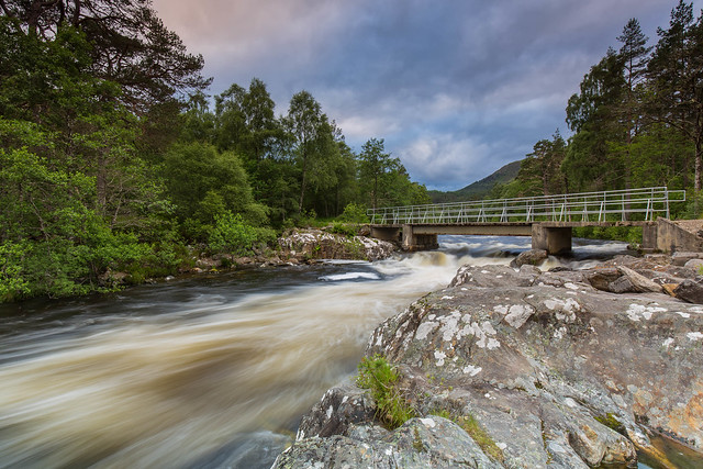 The River Affric ..