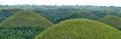 Kegelkarst (Karst tropical en conos) - Chocolate Hills (Bohol, Filipinas) - 01