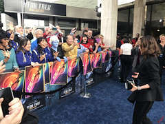 Michelle Yeoh at the Star Trek Discovery Premiere - IMG_0006