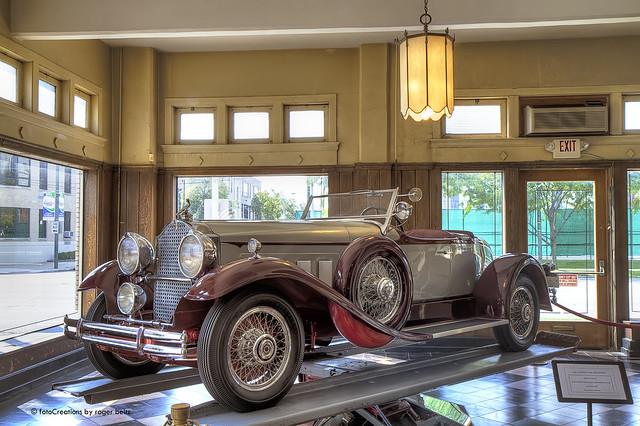 1930 Packard 734 Boattail Speedster