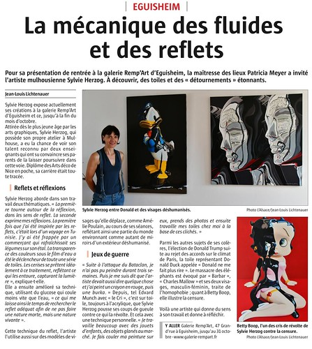 article Sylvie Herzog   by galerierempart